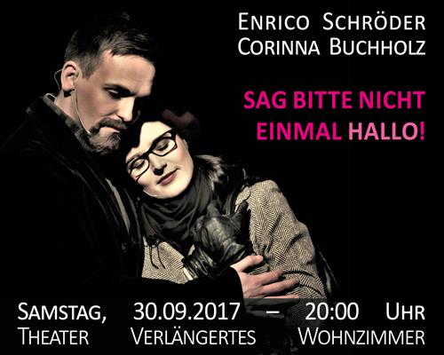 Sag Bitte Nicht Einmal Hallo Im Theater Verlngertes Wohnzimmer Berlin
